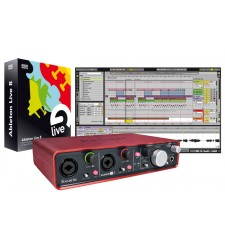 Focusrite Scarlett 2i4 and Ableton Live 9 