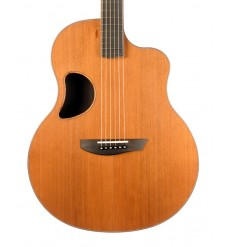 McPherson 3.5 Electro Acoustic Guitar, Redwood/East Indian Rosewood