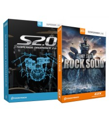 Toontrack Superior Drummer 2.0 software plus EZX Rock Solid Expansion