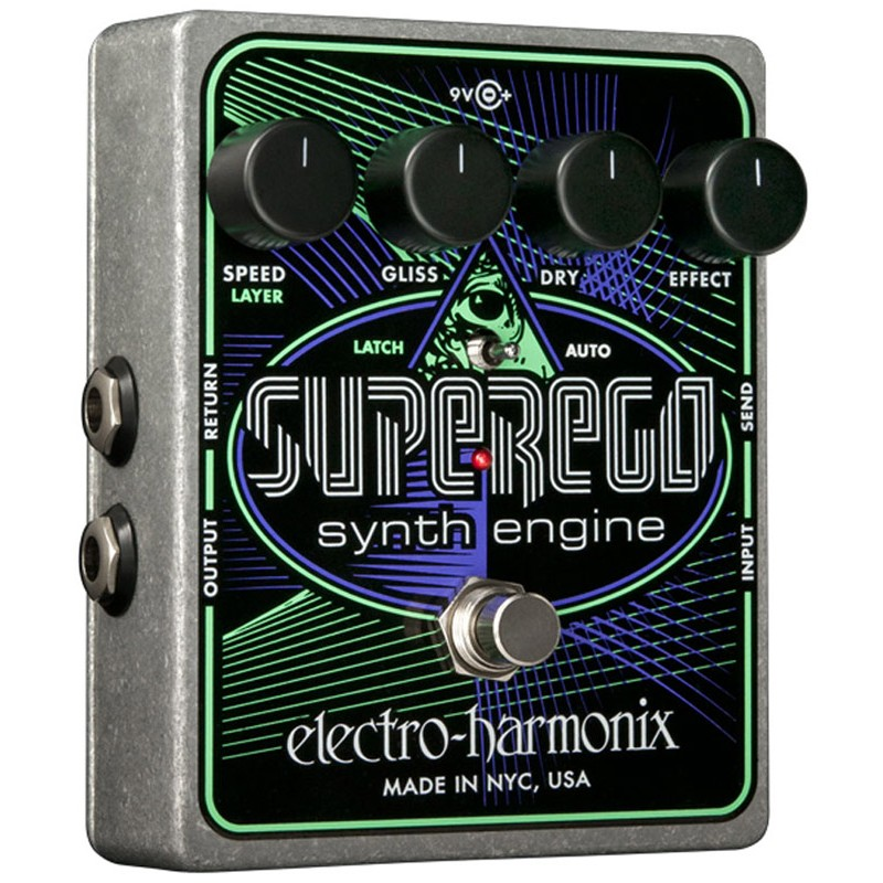 Electro Harmonix Superego Synth Engine Effects Pedal  
