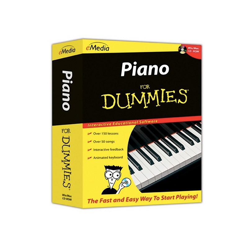 eMedia Piano For DUMMIES, with eMedia CD Rom