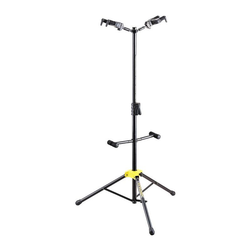 Hercules GS422B dual guitar stand with auto-grip yokes
