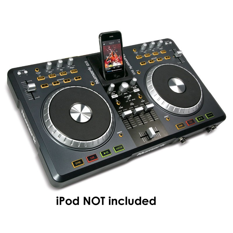 Numark iDJ3 DJ software controller with iPod dock and USB audio