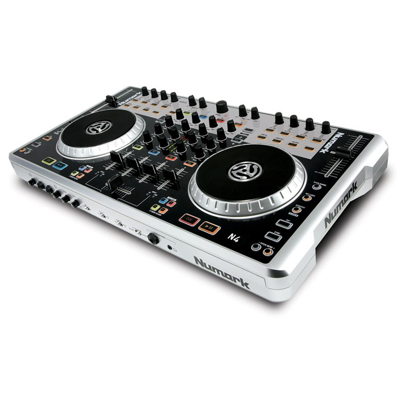 Numark N4 4 Channel DJ Controller and Mixer