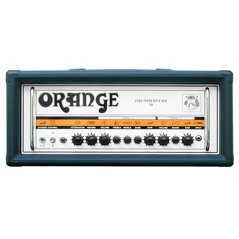 Orange Thunderverb 50w Guitar Amplifier Head Black