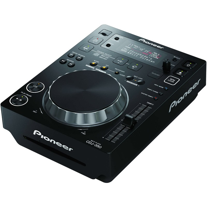 Pioneer CDJ-350 DJ Multi format player/controller with rekordbox