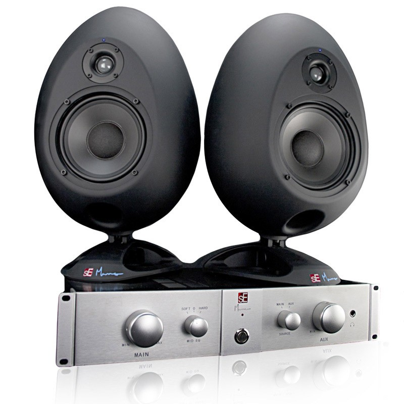 SE Munro Egg 150 Bi Amplified Studio Monitors (Pair)