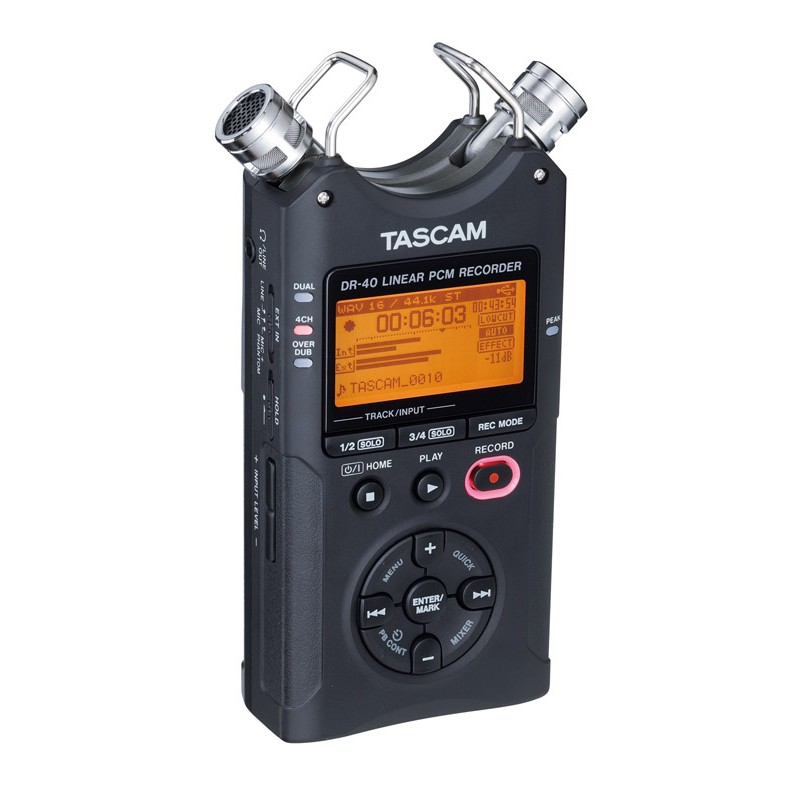 Tascam DR-40 Portable Digital Stereo Recorder