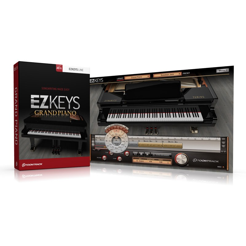 Toontrack EZkeys Virtual Piano Software