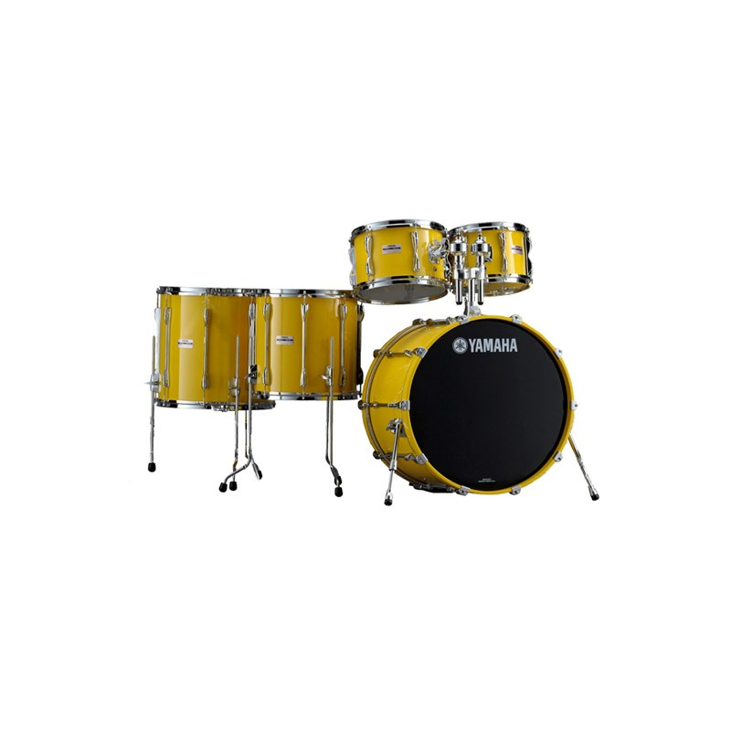 Yamaha 9000 Recording Custom Drum Kit Ltd Edition Mellow Yellow Shell Pack  