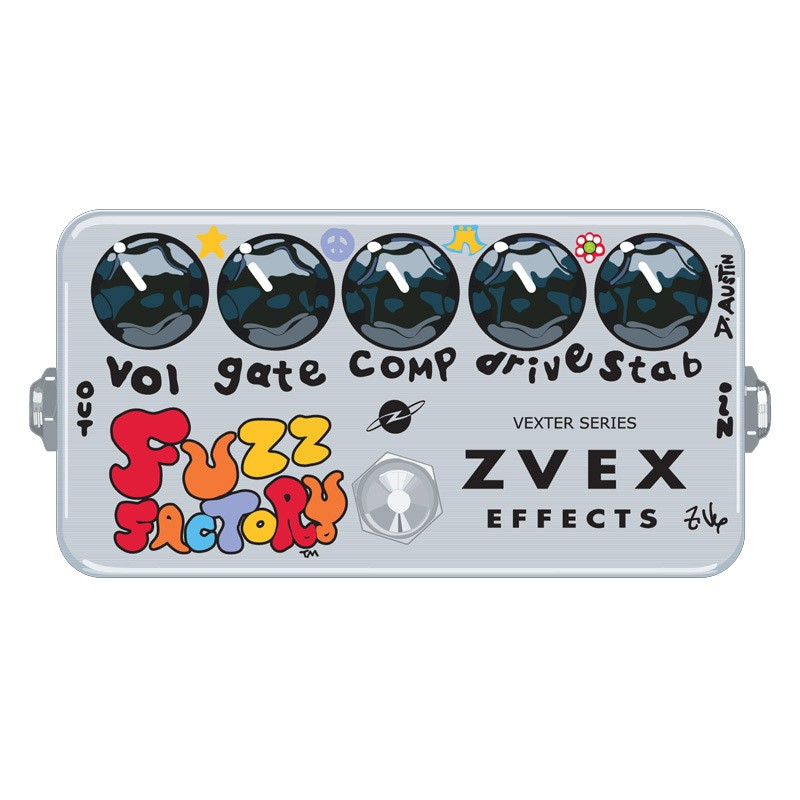 Zvex Vexter Fuzz Factory Effects Pedal