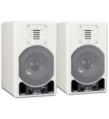 ADAM A5 Active Nearfield Monitor, Glossy White (Pair)