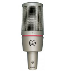 AKG C2000B Condenser Microphone (includes suspension) 
