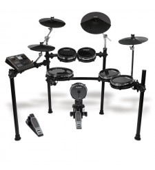 Alesis DM10 Studio Kit 2011 version with sticks, Throne, Kick pedal & Headphones