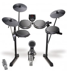Alesis DM6 USB Electronic Drum Kit with Headphones, Stool and AP30 Amp