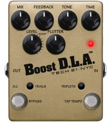 Tech 21 Boost D.L.A. 2 Analogue Delay Emulator Effects Pedal  (as new)