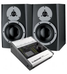 Dynaudio BM6A MK2 Active Studio Monitors (Pair) & TC Electronic BMC-2