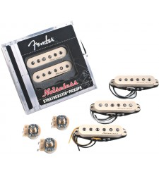 Fender Vintage Noiseless Stratocaster Pickups - White  
