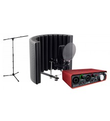 Focusrite Scarlett 2i2 and sE Electronics X1 RF-X Recording Bundle