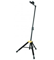 Hercules GS415B single guitar stand with folding auto-grip yoke