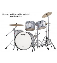 Ludwig USA Classic Maple Drum Kit In Silver Sparkle  