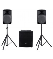 Mackie Thump TH-15A &amp; SRM1801 Active PA System 