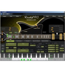 MusicLab RealLPC virtual guitar software