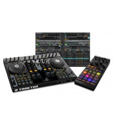 Native Instruments Traktor Kontrol S4 and F1 DJ Controller Bundle