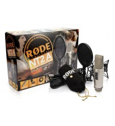 Rode NT2-A Studio Solution Pack, inc suspension, pop filter, cable & DVD