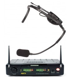 Samson Airline 77 QV10E headset radio mic system 