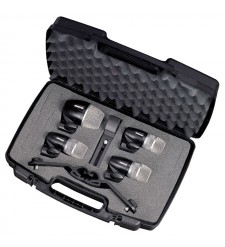 Shure PGDMK4 4 Piece Drum Microphone Set (includes case and cables)