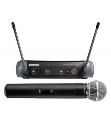 Shure PGX24/SM58 UHF handheld wireless radio mic system (CH.38 optimised)  