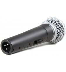 Shure SM58S dynamic microphone (switched)