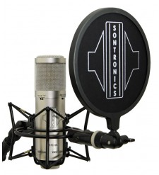 Sontronics STC-3X Pack Condenser Microphone with Accessories, Silver