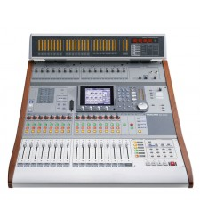 Tascam DM-3200 digital mixer with MU-1000 Meterbridge