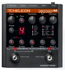 TC Helicon VoiceTone Harmony-M pedal  