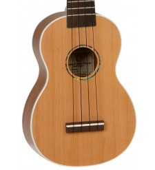 Tanglewood Cove Creek TU2 ST Soprano Ukulele, Natural, Solid Top