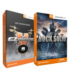 Toontrack EZ Drummer Software plus EZX Rock Solid Expansion