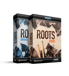 Toontrack Roots SDX Expansion Pack Bundle. Sticks with Brushes, Rods & Mallets