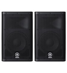 Yamaha DXR10 Active PA Speakers (Pair)  