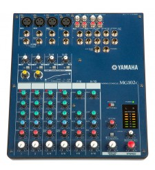 Yamaha MG102C mixer with compression 