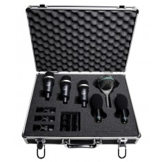 AKG Rhythm Pack drum mic package (1 x D112, 3 x D40, 2 x C430)