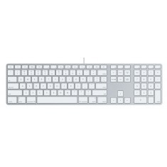 Apple USB Keyboard with numeric keypad (Slimline Aluminium)  MB110B/A 