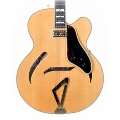 Gretsch G6040MCSS Synchromatic Cutaway Archtop Electric Guitar, Natural (Pre-Owned)