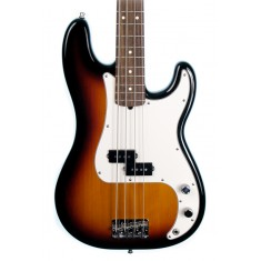 Fender American Standard Precision Bass Guitar, 3 Colour Sunburst, RW (Pre-Owned)