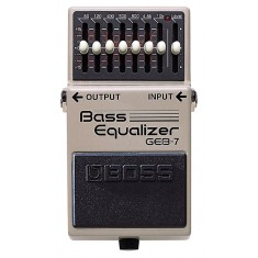 Boss GEB-7 7 Band Graphic EQ Effects Pedal (pre-owned)
