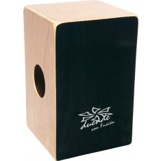 Duende DU040 Cajon - Con-Fusion Model with Zebrawood and Birch Panels