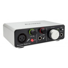Focusrite iTrack Solo USB Audio Interface for IOS, Mac and Windows
