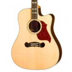 Gibson Songwriter Deluxe Studio EC Electro Acoustic Guitar, Natural 