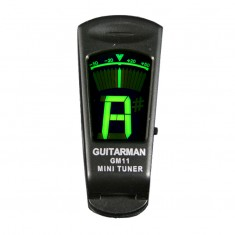 Guitar Man GM11 Clip On Chromatic Guitar Tuner